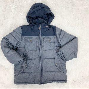 Gap boy size 6-7 hooded puffer winter jacket